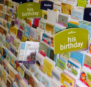 Hallmark wholesale brochure display distribution in barbados by hallmark wholesale we are the distributor of hallmark greeting cards m4hsunfo